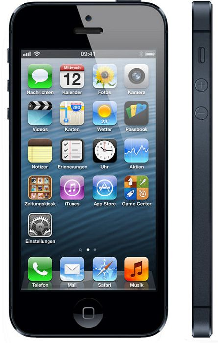Apple iPhone 5 16GB with branding