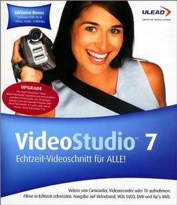 Ulead: Video Studio 7.0 aktualizacja (PC)