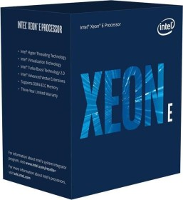Intel Xeon E-2174G, 4C/8T, 3.80-4.70GHz, boxed (BX80684E2174G)
