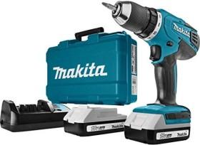 Makita HP457DWE Akku-Schlagbohrschrauber inkl. Koffer + 2 Akkus 1.5Ah