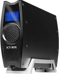 RaidSonic Icy Box IB-380StUS2-B schwarz, USB-A 2.0/eSATA (23803)