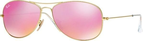 Ray-Ban RB3362 Cockpit 59mm gold/cyclamen flash (112/4T) -- ©Glasses&Co