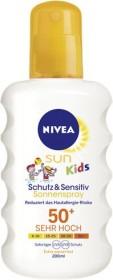 Nivea Sun Kids Schutz & Sensitiv Sonnenspray LSF50+, 200ml