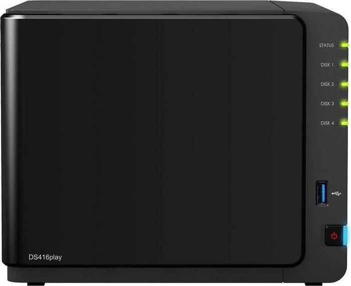 4 Bay Desktop-NAS-Einheit 4 x 8TB SGT-IW Synology DS416Play 32TB