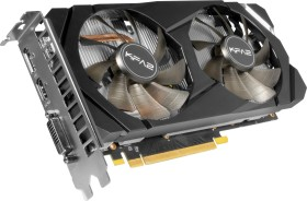 KFA2 GeForce RTX 2060 [1-Click OC], 6GB GDDR6, DVI, HDMI, DP, bulk (26NRL7HPX7OKB)