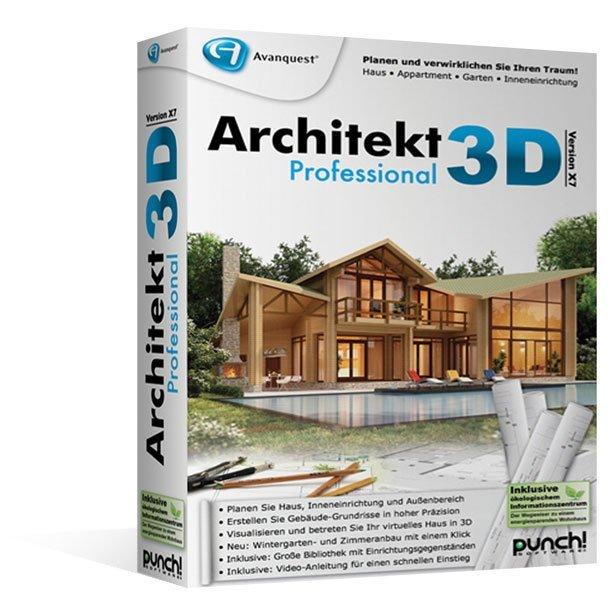 Punch: Architekt 3D X7 Professional, ESD (deutsch) (PC