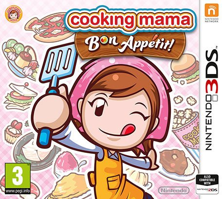 Cooking Mama: Bon Appétit! (deutsch) (3DS)