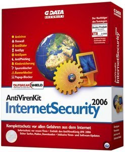GData Software AntiVirenKit Internet Security 2006 Update (deutsch) (PC) (2733)