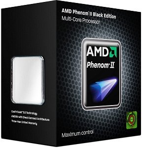 AMD Phenom II X3 740 Black Edition, 3x 3.00GHz, boxed (HDZ740WFGIBOX)