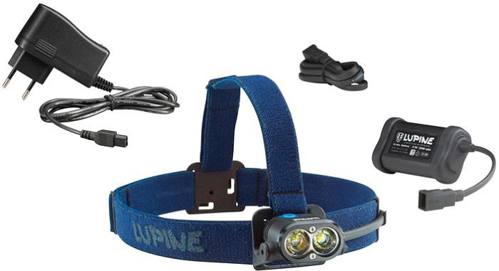 Lupine Piko X3 head torch -- ©Globetrotter