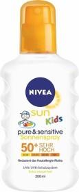 Nivea Sun Kids Pure & Sensitiv Sonnenspray LSF50+, 200ml