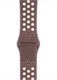 Apple Nike Sportarmband S/M und M/L für Apple Watch 44mm Smokey Mauve/Particle Beige (MTP22ZM/A)