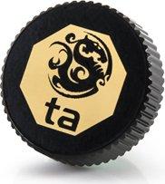 """Bitspower Touchaqua Verschlussstopfen 1/4"""", Glorious Black, 2er-Pack (BPTA-F06-GB)"""