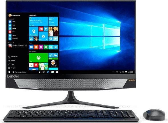 Lenovo IdeaCentre 720-24IKB, Core i5-7400, 8GB RAM, 1TB HDD, 128GB SSD, UHD (F0CM004BGE)