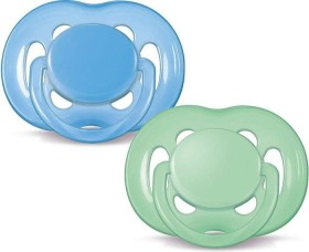 Philips Avent SCF178/27 Freeflow soother, silicone, 6-18M