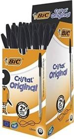 BIC Cristal Original, 0.4mm schwarz, 50er-Pack (8373639)