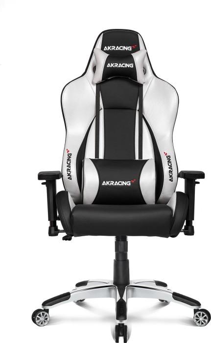 AKRacing Premium Style v2 fotel gamingowy, czarny/srebrny (AK-7002-BS V2) -- © caseking.de