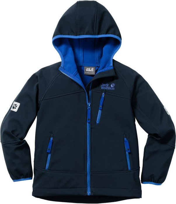 86dd2f24f30 Jack Wolfskin Boys Whirlwind Jacket night blue (Junior) starting from £  33.74 (2019) | Skinflint Price Comparison UK