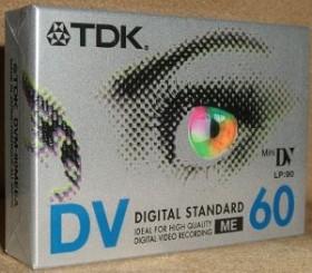 TDK DVM-60 MiniDV-Kassette, 2er-Pack