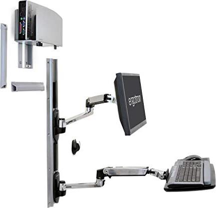 Ergotron LX combined system for wall mounting (45-247-026) -- via Amazon Partnerprogramm