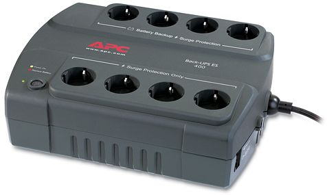 APC Back-UPS ES 400VA Steckdosenleiste (BE400-GR)