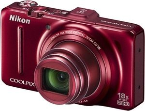 Nikon Coolpix S9300 red (VMA922E1)