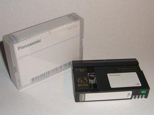 Panasonic AY-DVM63PQ miniDV cassette -- © bepixelung.org