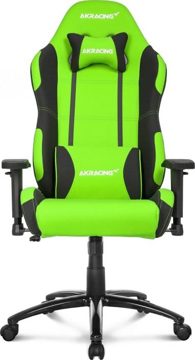AKRacing Prime fotel gamingowy, zielony/czarny (AK-K7018-BG)