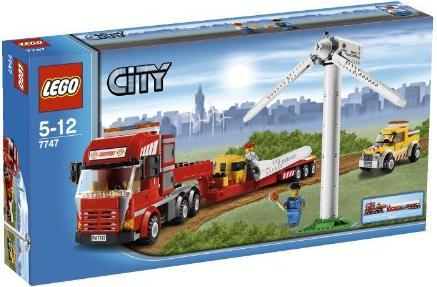 LEGO - City - Windturbinen-Transporter (7747) -- via Amazon Partnerprogramm