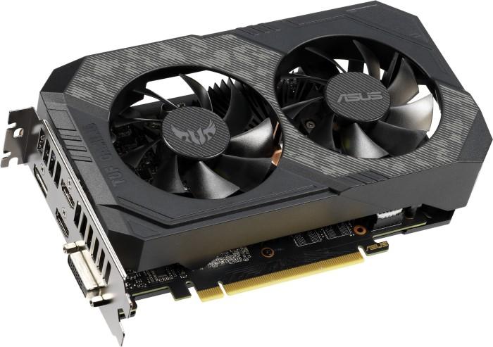 ASUS TUF Gaming GeForce GTX 1660 Ti, TUF-GTX1660TI-6G-GAMING, 6GB GDDR6, DVI, 2x HDMI, DP (90YV0CT4-M0NA00)