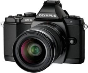 Olympus OM-D E-M5 schwarz mit Objektiv M.Zuiko digital 14-42mm (V204041BE000)