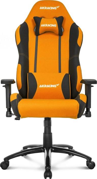 AKRacing Prime fotel gamingowy, pomarańczowy/czarny (AK-K7018-BO) -- © caseking.de