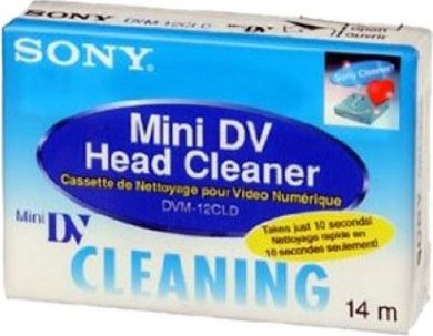 Sony DVM4CLD MiniDV cleaning cartridge