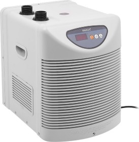 Hailea HC Series 250A Aquarienkühler weiß, Durchlaufkühler mit Kompressor, 100-600l (HD-250A-WH)