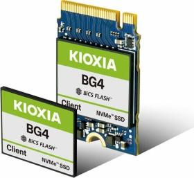 KIOXIA BG4 Client SSD 256GB, SED, M.2 1620-S2 (KBG4AZPZ256G)