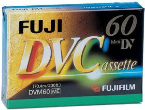 Fuji DVC-E060 miniDV cassette (42782)