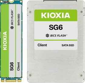 KIOXIA SG6 Client SSD 256GB, SED, M.2 (KSG6AZMV256G)