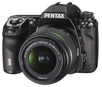 Pentax K-5 II (SLR) black with lens DA 18-55mm WR and DA 50-200mm WR (1202600)
