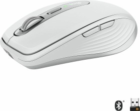 Logitech MX Anywhere 3 Pale Grey, weiß/grau, USB/Bluetooth (910-005989)