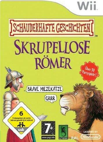 Schauderhafte Geschichten - Skrupellose Römer (deutsch) (Wii) -- via Amazon Partnerprogramm