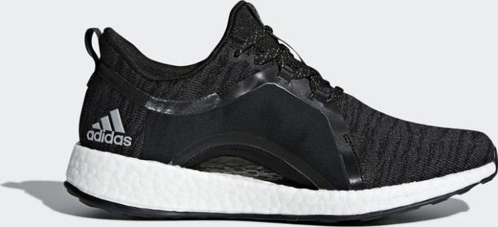 556c7f144 adidas Pure Boost X black carbon silver metallic core black (ladies ...