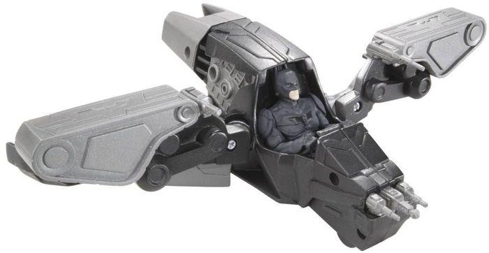 Mattel DC Comics Batman - The Dark Knight Rises Quick Tek Kanonen-Hoverjet (X2315)