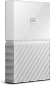 Western Digital WD My Passport Portable Storage weiß 4TB, USB 3.0 Micro-B (WDBYFT0040BWT-WESN)