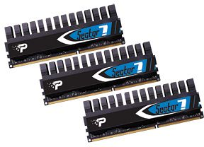 Patriot Viper II Sector 7 DIMM kit 12GB PC3-12800U CL9-9-9-24 (DDR3-1600) (PV7312G1600ELK)
