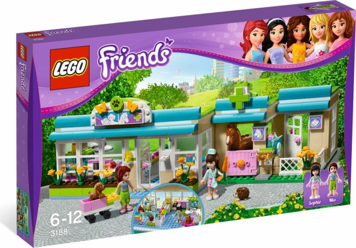 LEGO - Friends - Heartlake Vet (3188) -- via Amazon Partnerprogramm