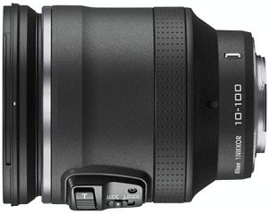 Nikon lens 1 NIKKOR VR 10-100mm 4.5-5.6 PD-zoom black (JVA702DA)