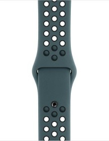 Apple Nike Sportarmband S/M und M/L für Apple Watch 40mm Celestial Teal/schwarz (MTMU2ZM/A)