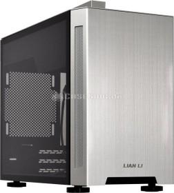Lian Li TU150 silber, Glasfenster, Mini-ITX (TU150WA)