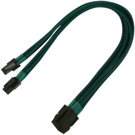 Nanoxia 8-Pin EPS12V extension 30cm, sleeved green (NX8PV3EG)