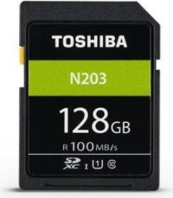 Toshiba High Speed N203 R100 SDXC 128GB, UHS-I U1, Class 10 (THN-N203N1280E4)